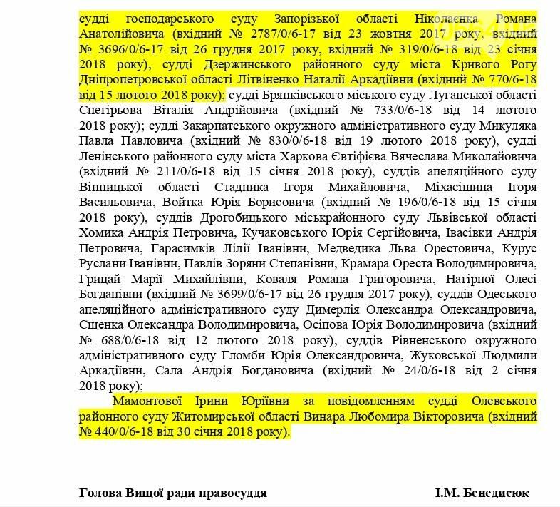 ВСП не увидел оснований для реагирования по жалобе криворожской судьи на активистов (ДОКУМЕНТ), фото-4