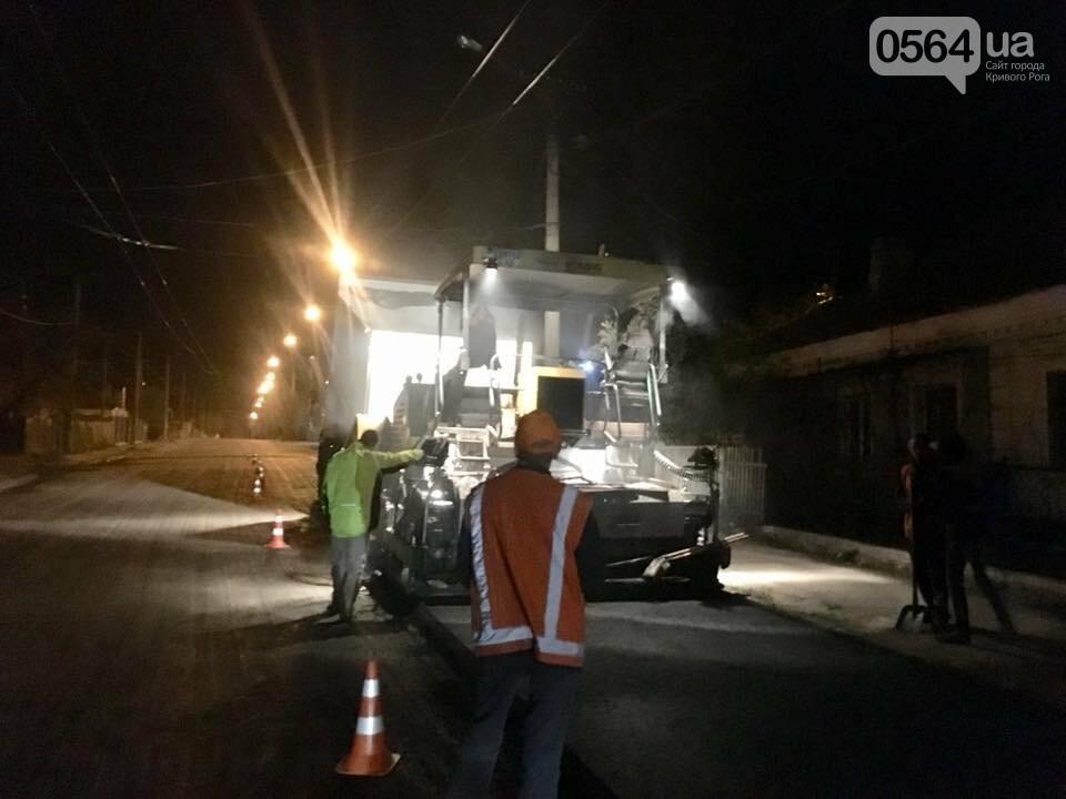 В Кривом Роге ремонтируют дороги и днем, и ночью (ФОТО), фото-27