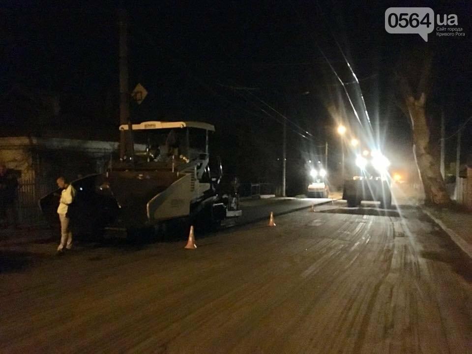 В Кривом Роге ремонтируют дороги и днем, и ночью (ФОТО), фото-22