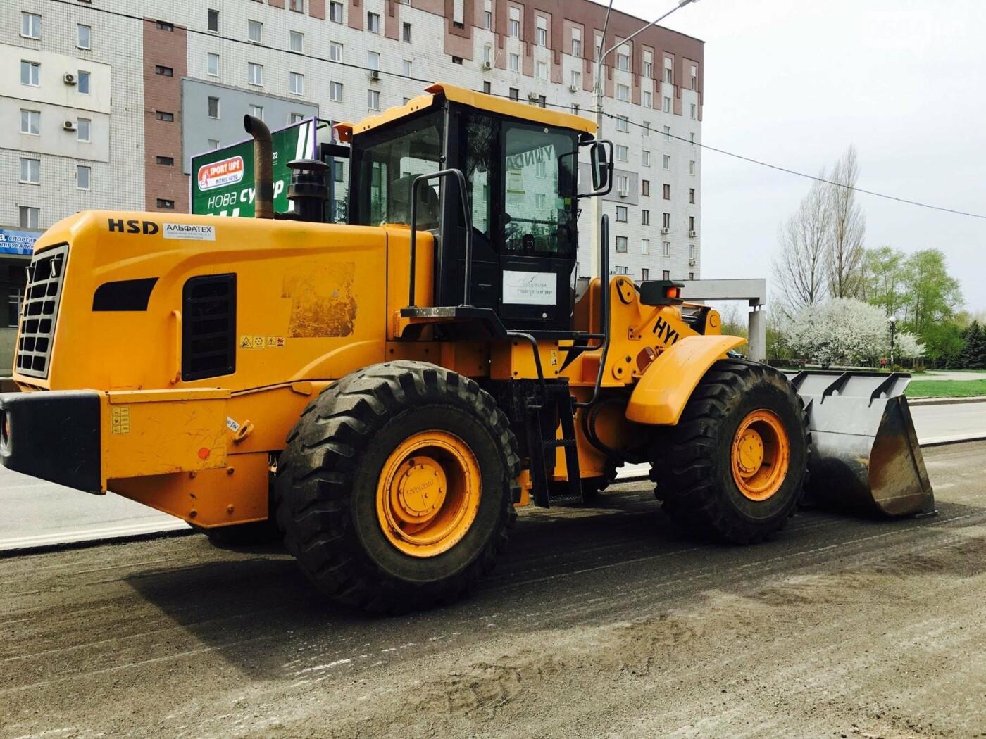 В Кривом Роге ремонтируют дороги и днем, и ночью (ФОТО), фото-4