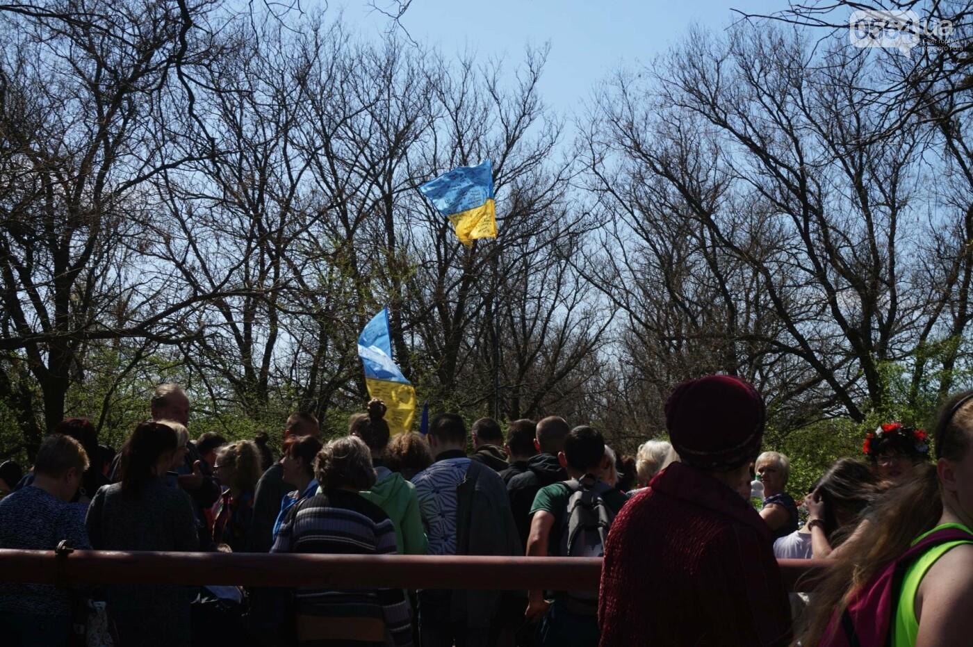 Как криворожане высаживали на Хортице дубраву в память о погибших Героях (ФОТО, ВИДЕО), фото-58