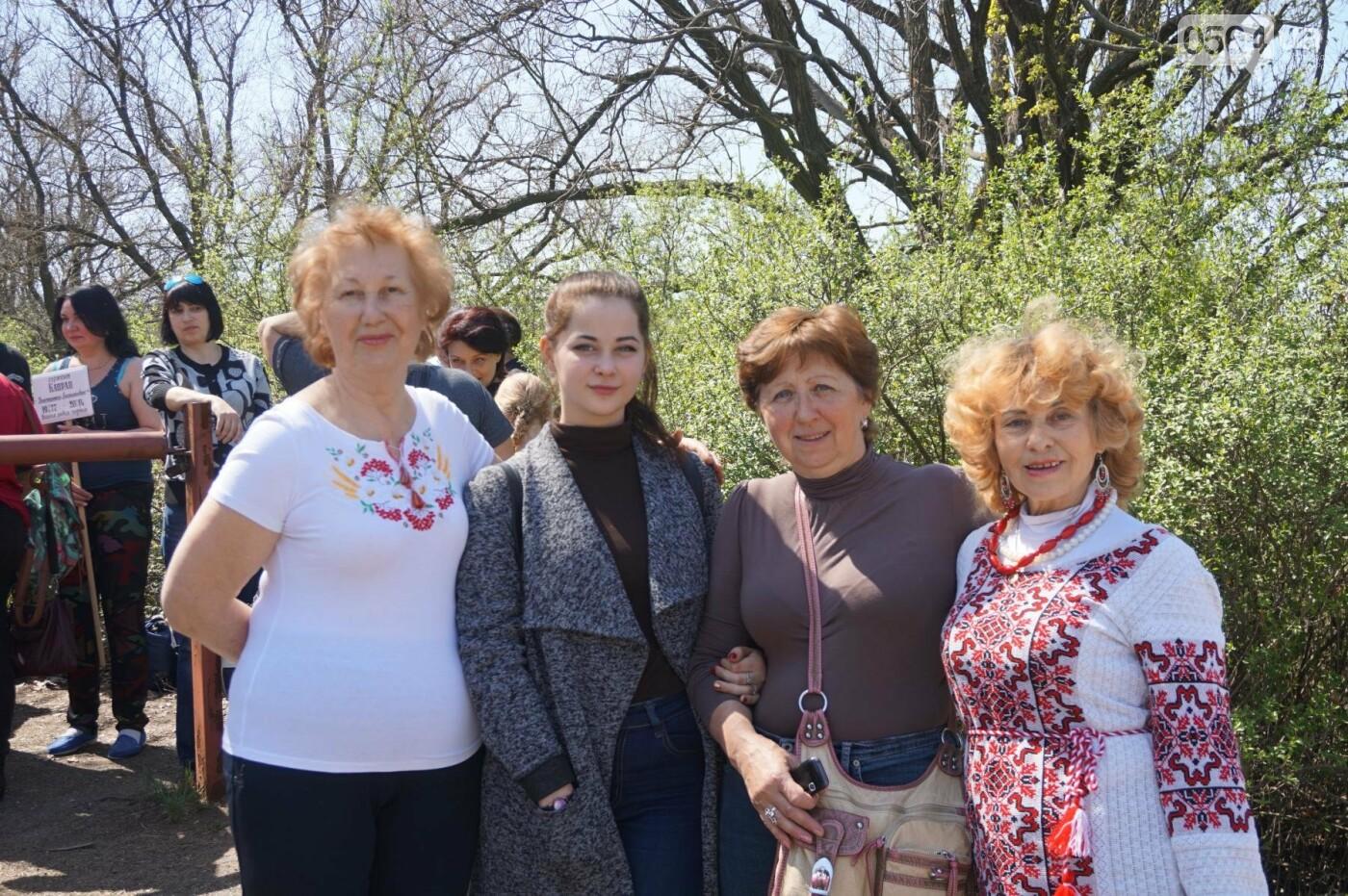 Как криворожане высаживали на Хортице дубраву в память о погибших Героях (ФОТО, ВИДЕО), фото-60