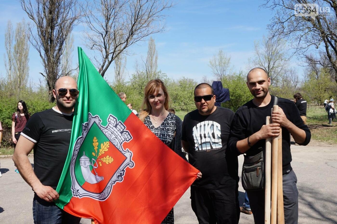 Как криворожане высаживали на Хортице дубраву в память о погибших Героях (ФОТО, ВИДЕО), фото-59