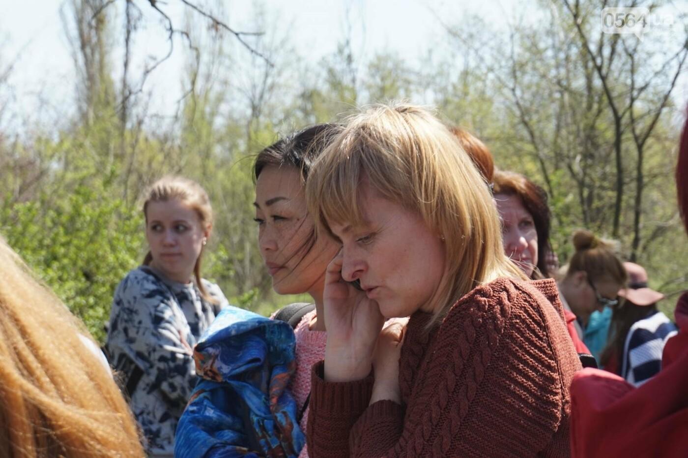 Как криворожане высаживали на Хортице дубраву в память о погибших Героях (ФОТО, ВИДЕО), фото-16