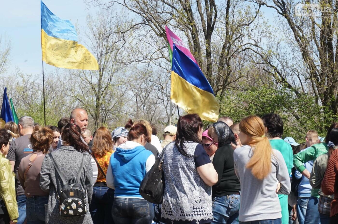Как криворожане высаживали на Хортице дубраву в память о погибших Героях (ФОТО, ВИДЕО), фото-63