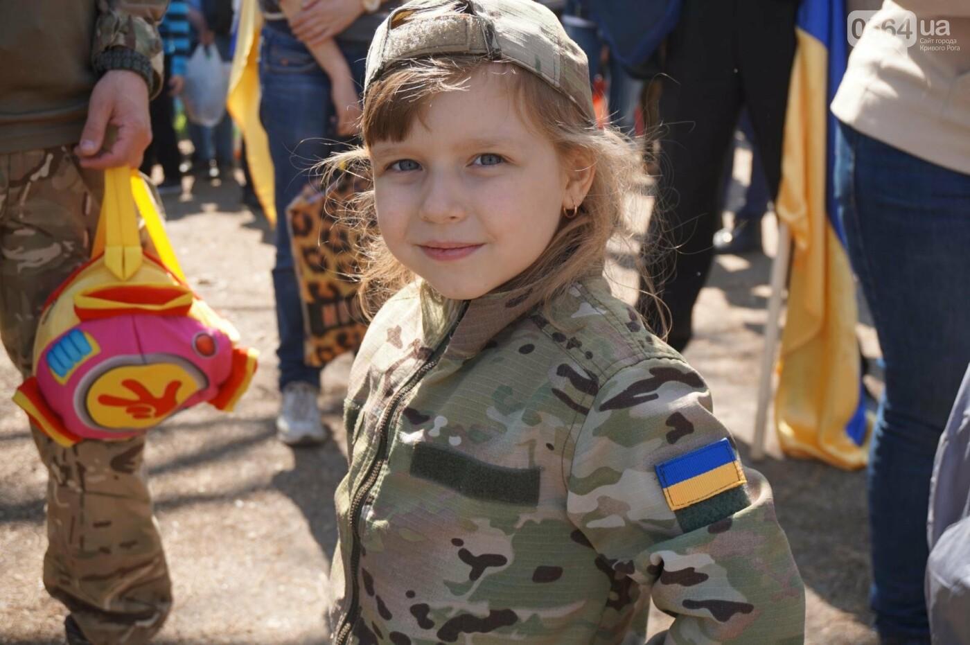 Как криворожане высаживали на Хортице дубраву в память о погибших Героях (ФОТО, ВИДЕО), фото-18