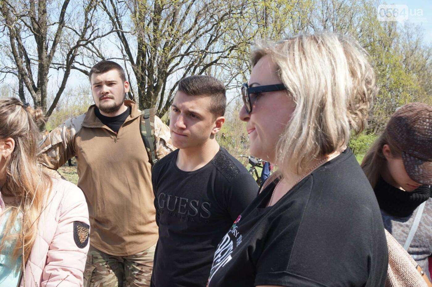 Как криворожане высаживали на Хортице дубраву в память о погибших Героях (ФОТО, ВИДЕО), фото-53