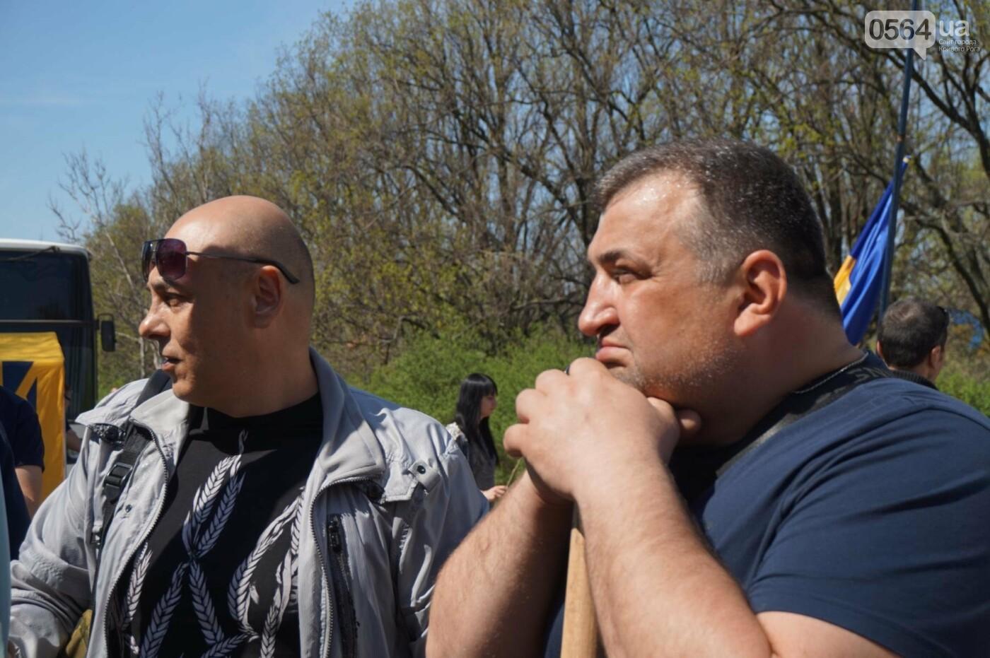 Как криворожане высаживали на Хортице дубраву в память о погибших Героях (ФОТО, ВИДЕО), фото-20