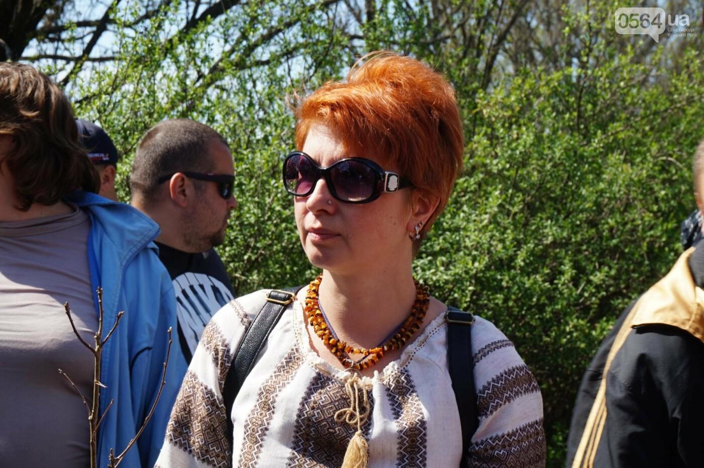 Как криворожане высаживали на Хортице дубраву в память о погибших Героях (ФОТО, ВИДЕО), фото-38