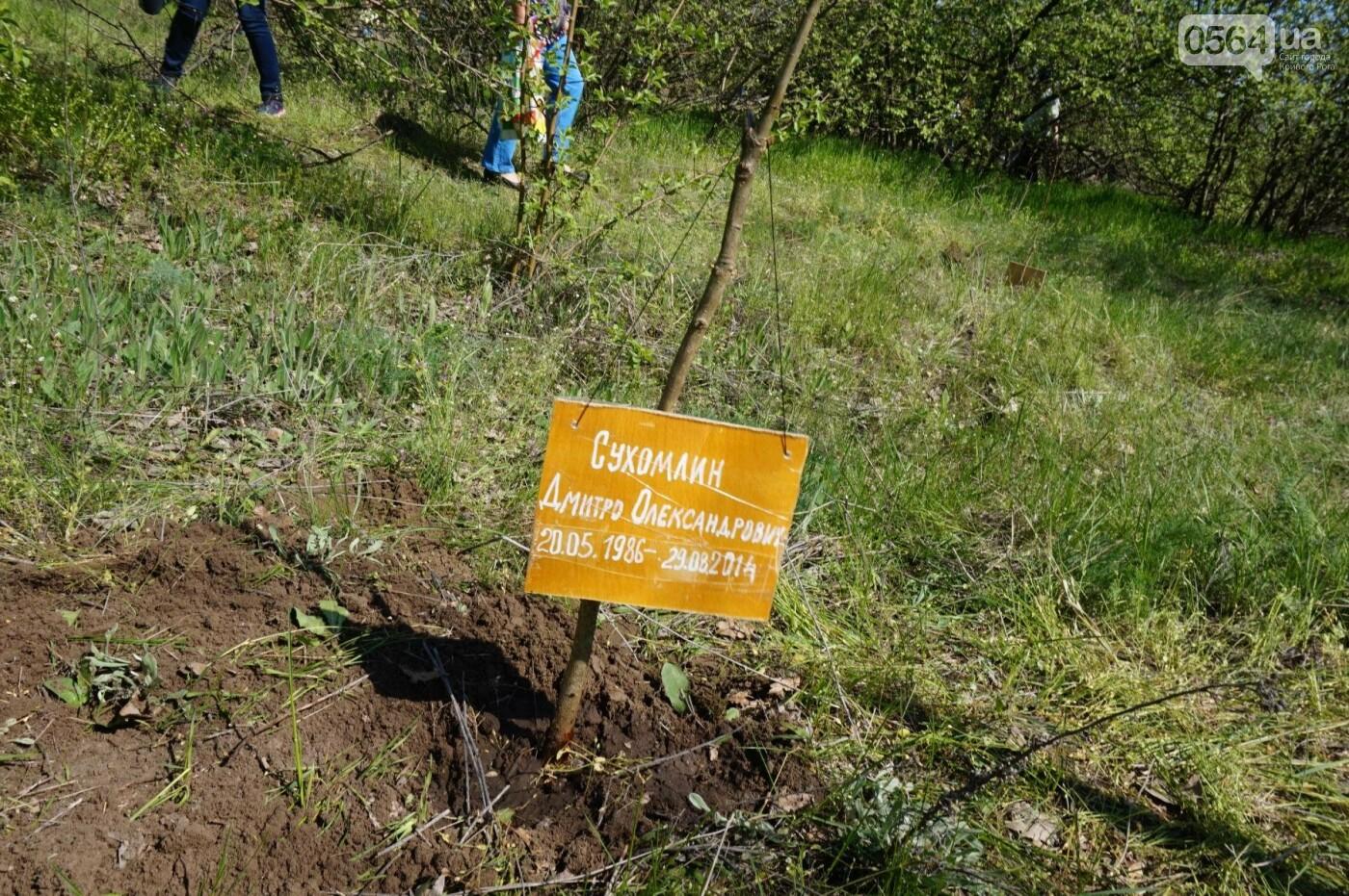 Как криворожане высаживали на Хортице дубраву в память о погибших Героях (ФОТО, ВИДЕО), фото-76