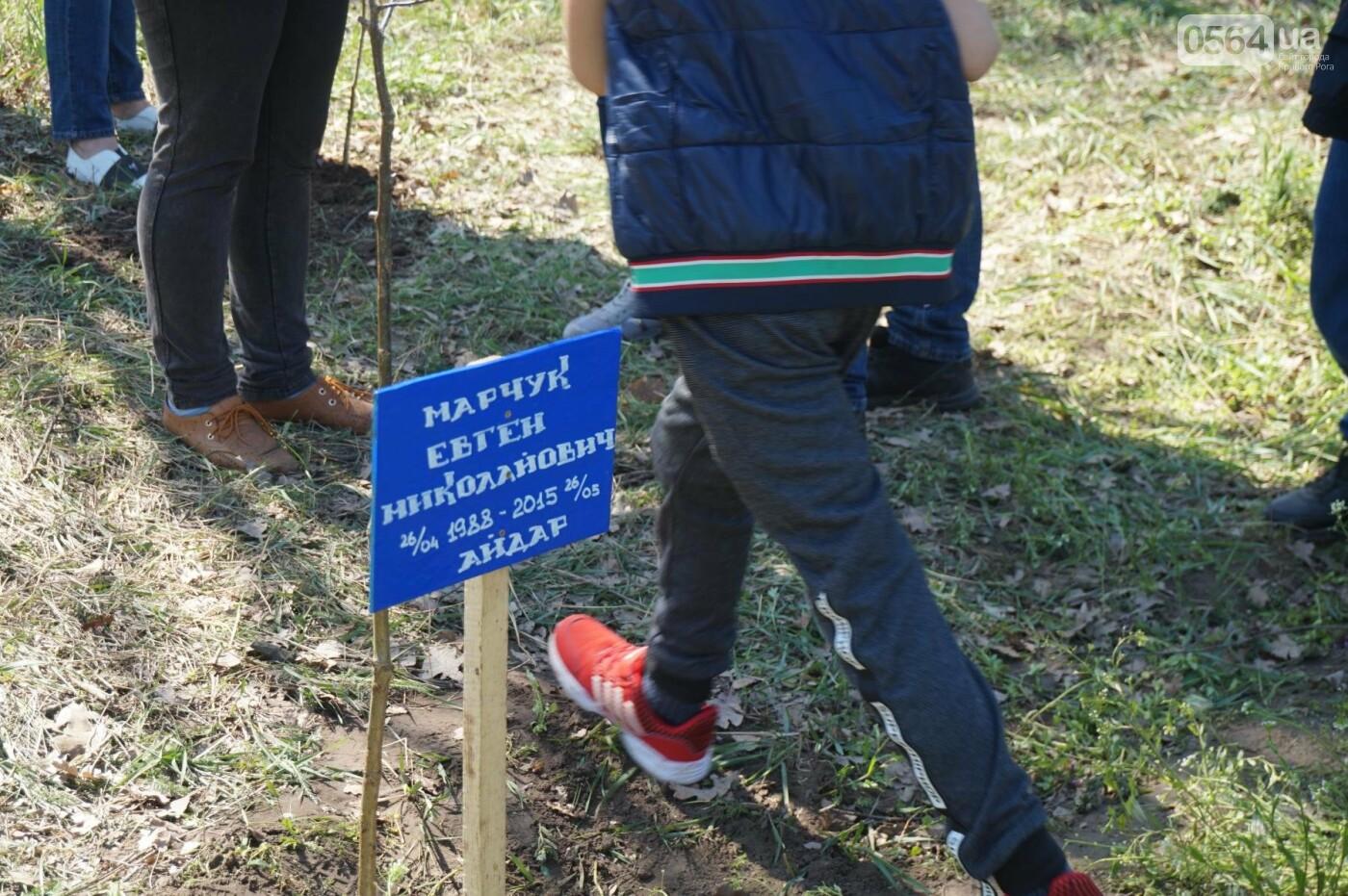 Как криворожане высаживали на Хортице дубраву в память о погибших Героях (ФОТО, ВИДЕО), фото-55