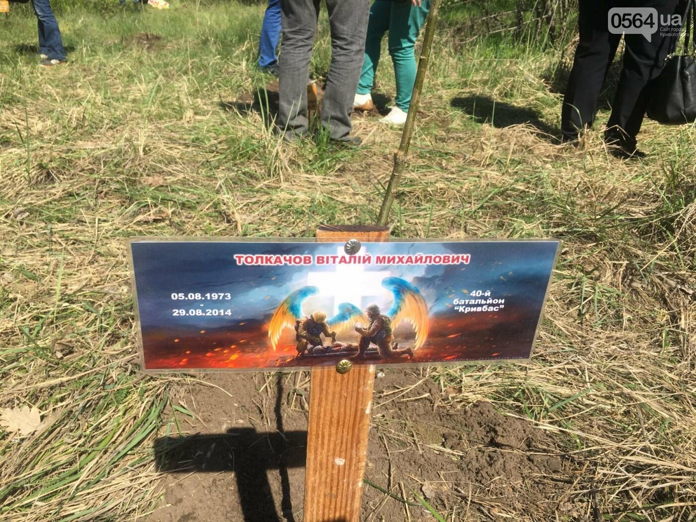 Как криворожане высаживали на Хортице дубраву в память о погибших Героях (ФОТО, ВИДЕО), фото-49
