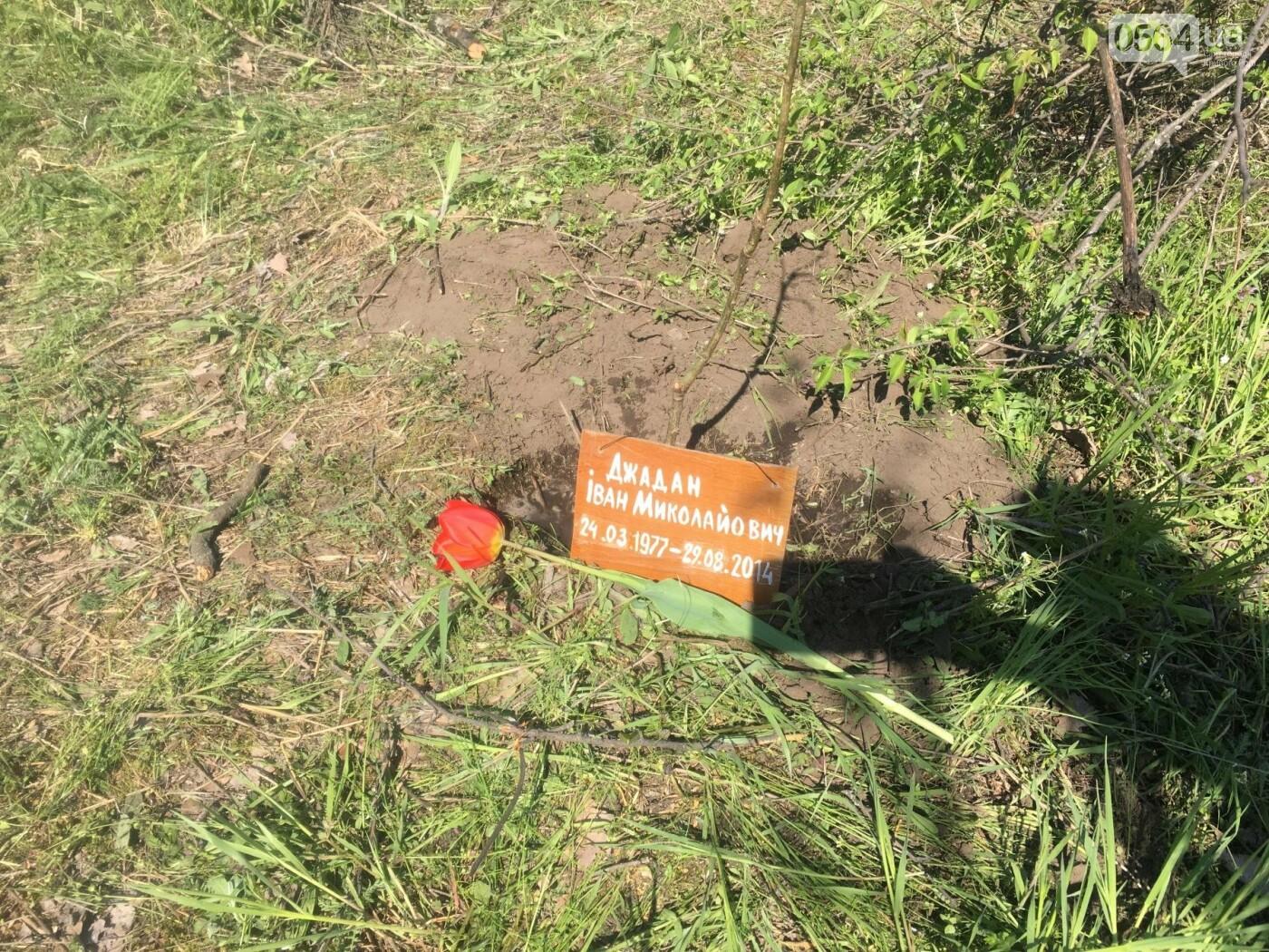 Как криворожане высаживали на Хортице дубраву в память о погибших Героях (ФОТО, ВИДЕО), фото-80