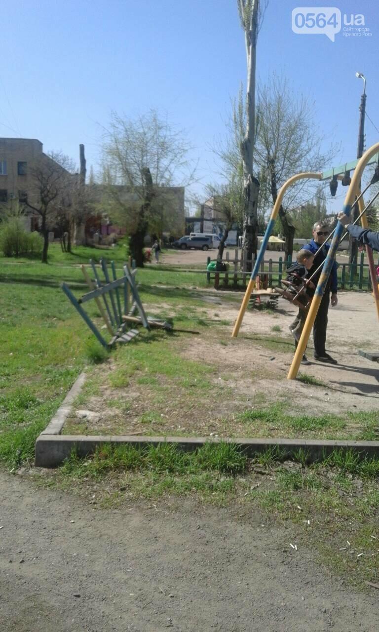 В Кривом Роге на детской площадке существует угроза жизни и здоровью детей (ФОТО), фото-7