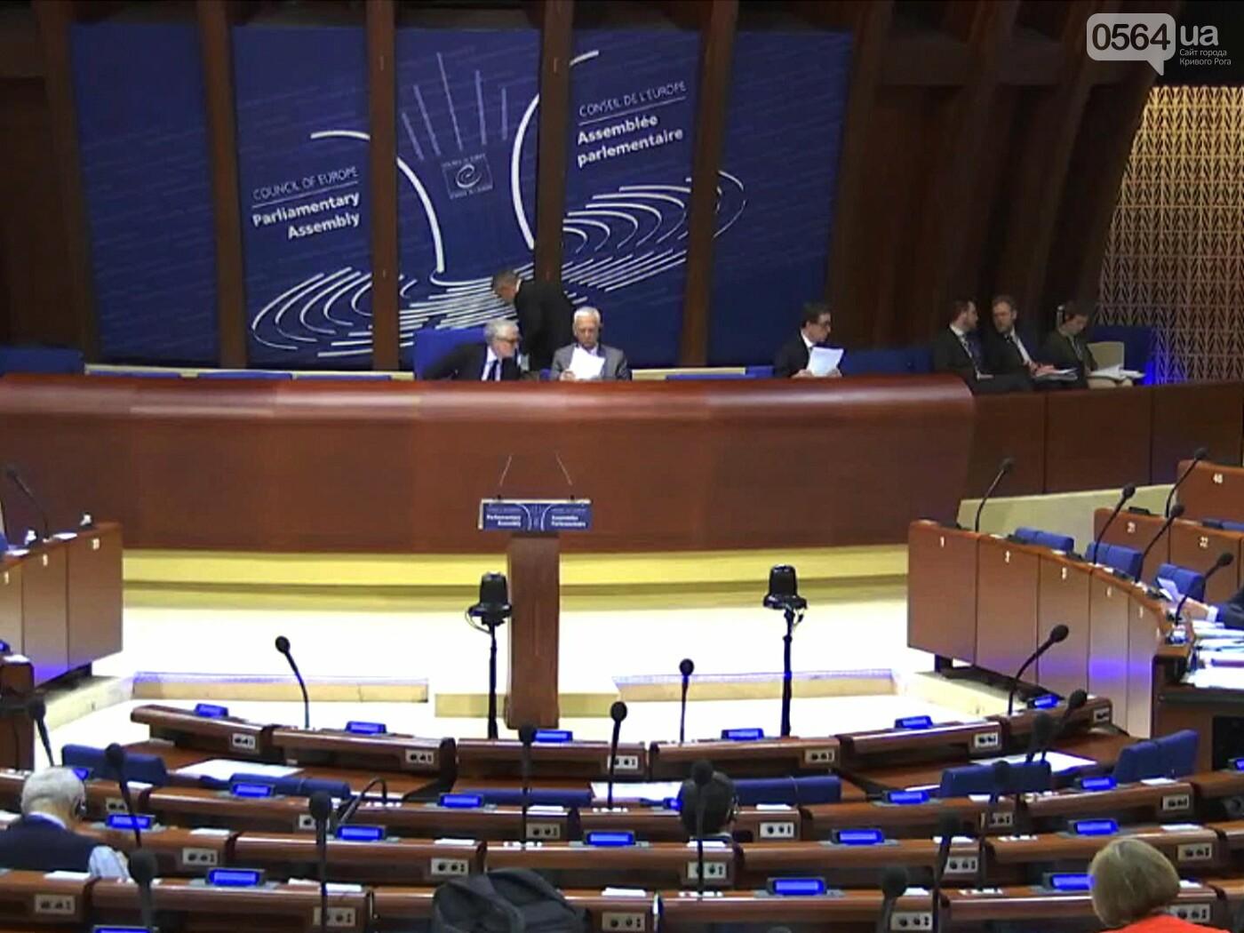 «Всё это на совести России», -  на сессии ПАСЕ народный депутат Константин Усов заявил о нарушениях Россией  прав украинских граждан (ВИДЕО), фото-2