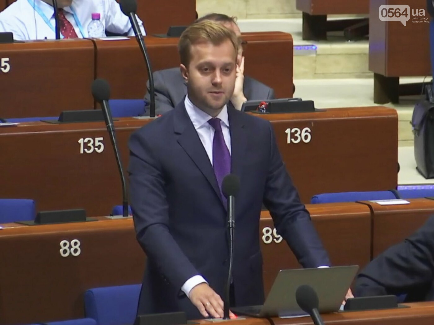 «Всё это на совести России», -  на сессии ПАСЕ народный депутат Константин Усов заявил о нарушениях Россией  прав украинских граждан (ВИДЕО), фото-1