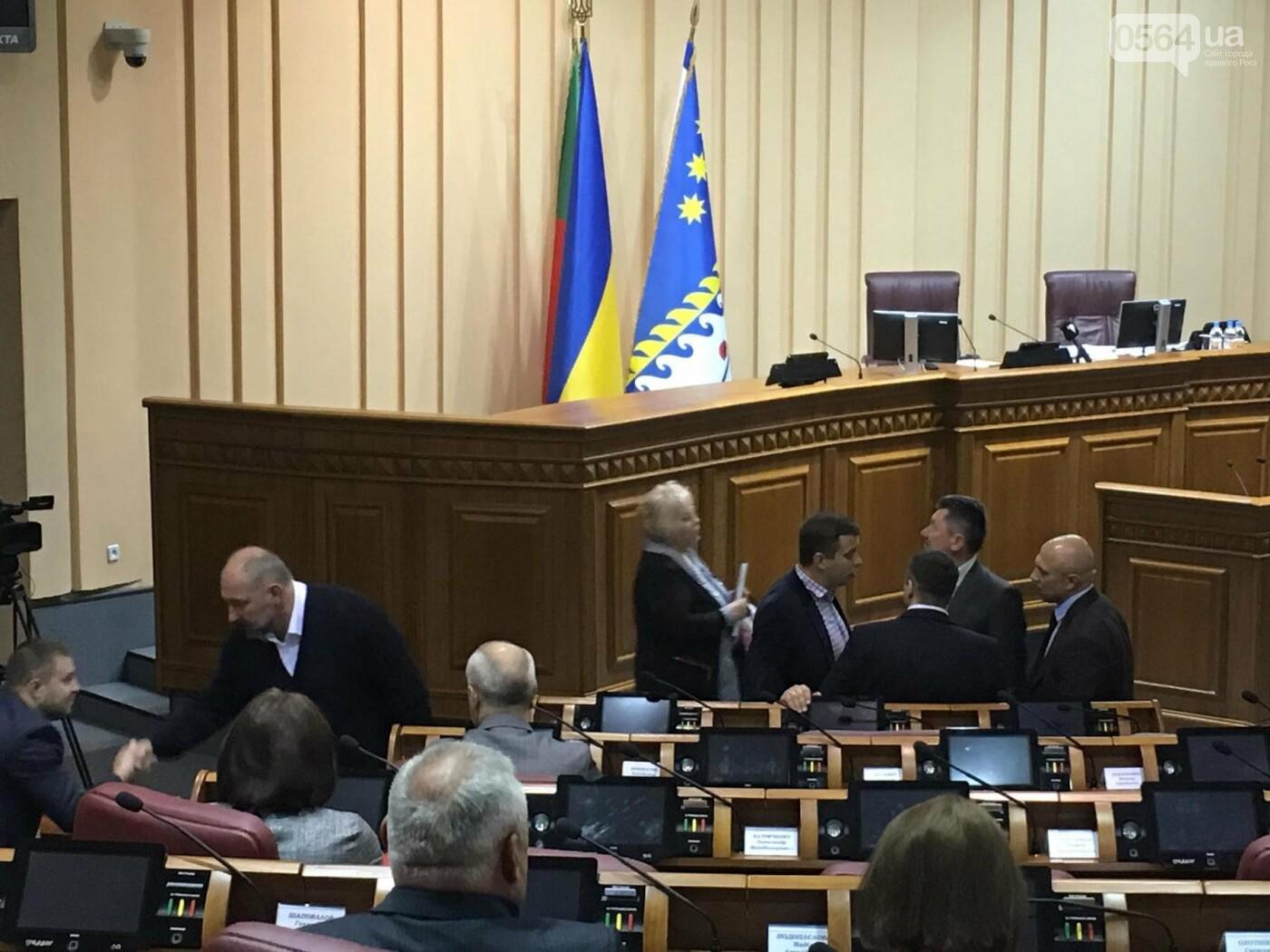 """""""Промэрское"""" большинство в Криворожском горсовете утвердило повестку дня сессии без предложений депутатов не из большинства (ФОТО), фото-16"""