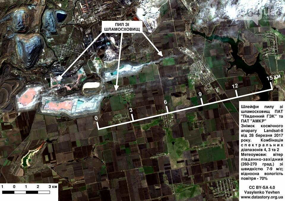 Экологи: Пылевые шлейфы от объектов криворожских ГОКов простираются до 20-25 км (ФОТО), фото-3