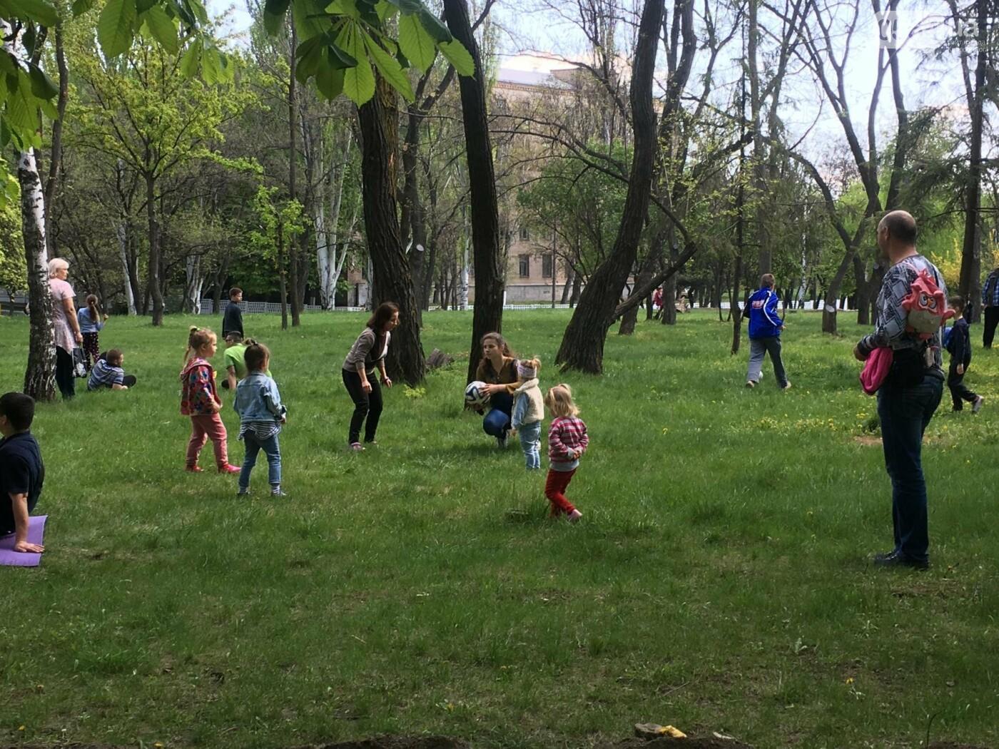 """""""В Европу без мусора!"""": криворожане помогли подготовить парк к Еврофесту (ФОТО), фото-44"""