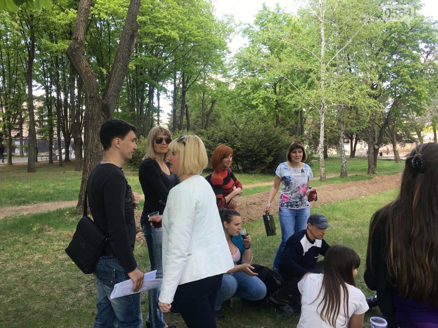 """""""В Европу без мусора!"""": криворожане помогли подготовить парк к Еврофесту (ФОТО), фото-85"""