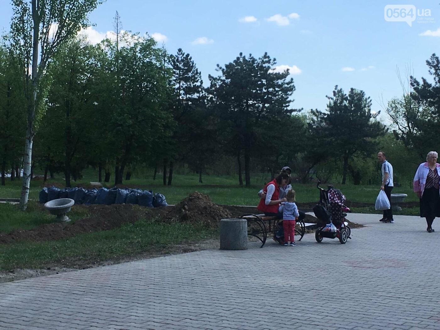 """""""В Европу без мусора!"""": криворожане помогли подготовить парк к Еврофесту (ФОТО), фото-10"""