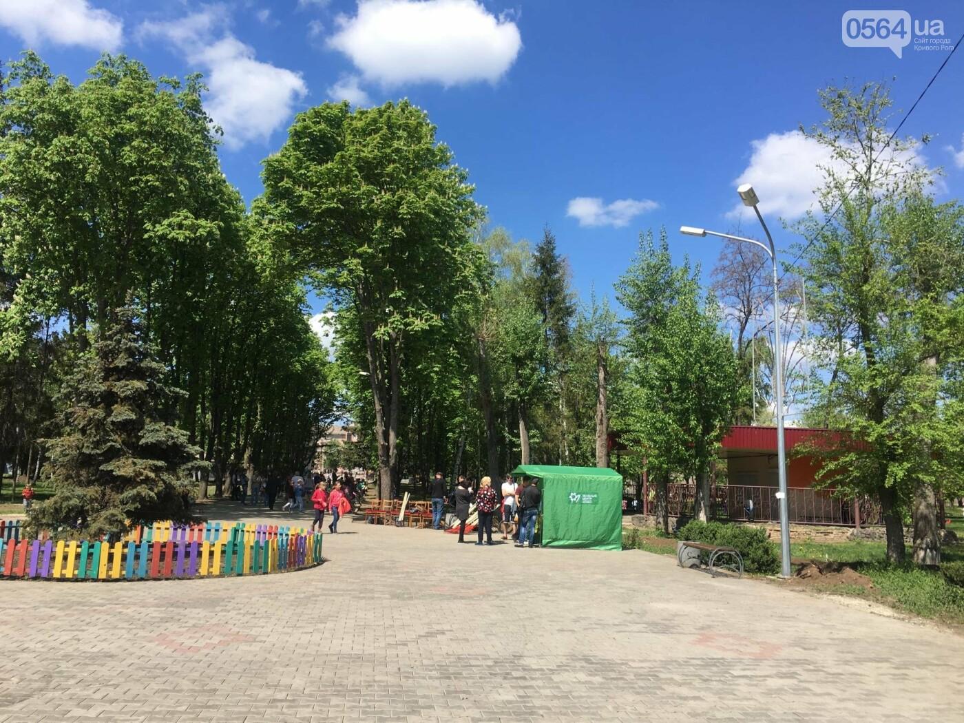 """""""В Европу без мусора!"""": криворожане помогли подготовить парк к Еврофесту (ФОТО), фото-80"""