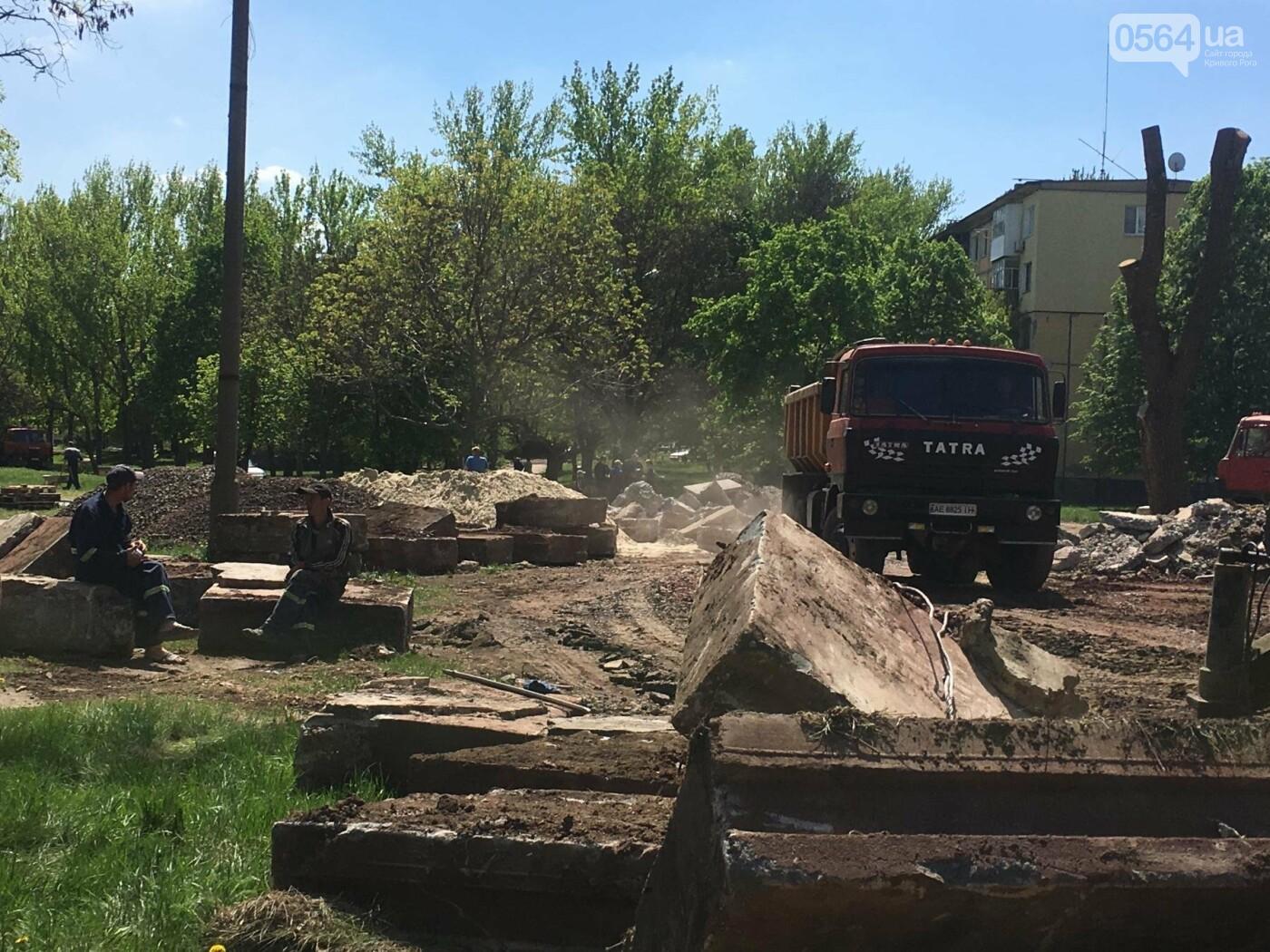 """""""В Европу без мусора!"""": криворожане помогли подготовить парк к Еврофесту (ФОТО), фото-28"""