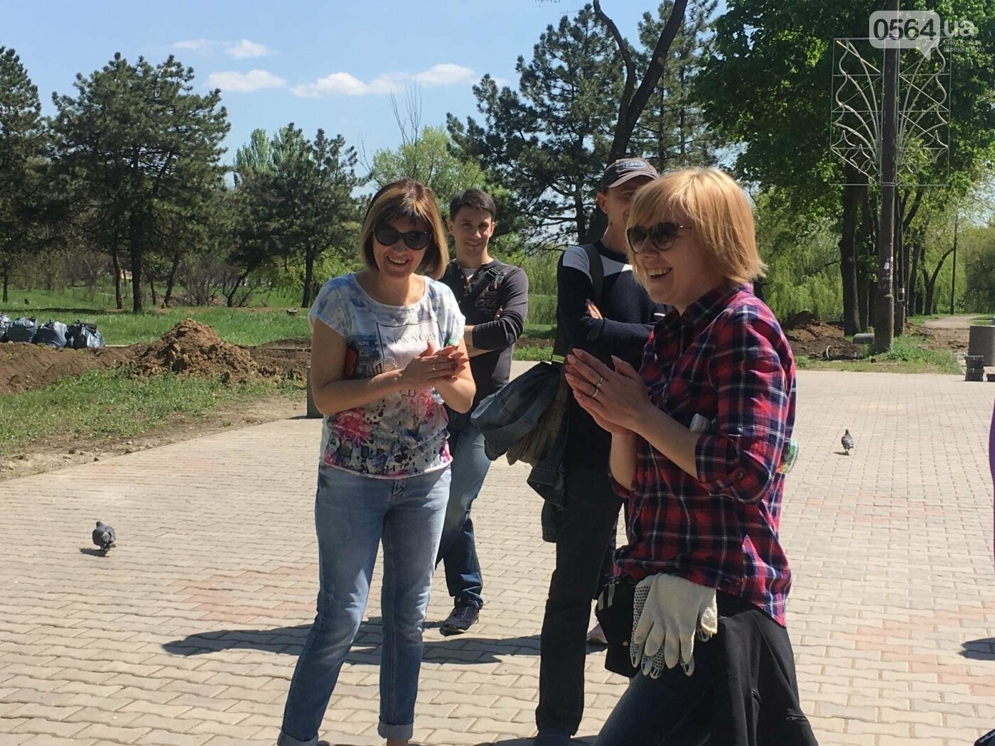 """""""В Европу без мусора!"""": криворожане помогли подготовить парк к Еврофесту (ФОТО), фото-24"""