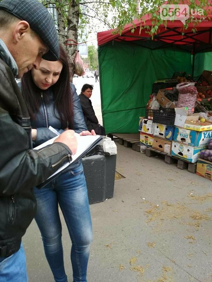 В Кривом Роге пытаются убрать с улиц торговцев колбасой и рыбой (ФОТО), фото-8