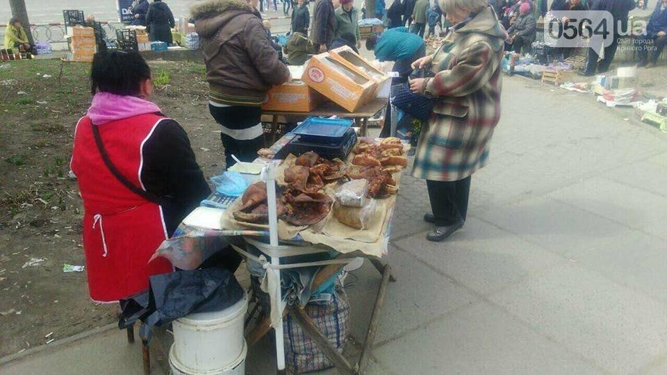 В Кривом Роге пытаются убрать с улиц торговцев колбасой и рыбой (ФОТО), фото-14