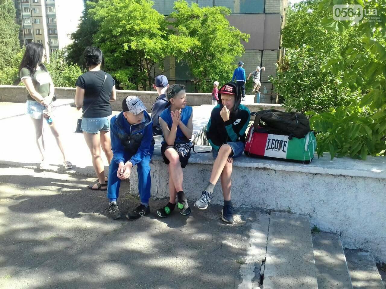Юные криворожские спортсмены открыли летний сезон в спортивном лагере, - ФОТО, фото-10