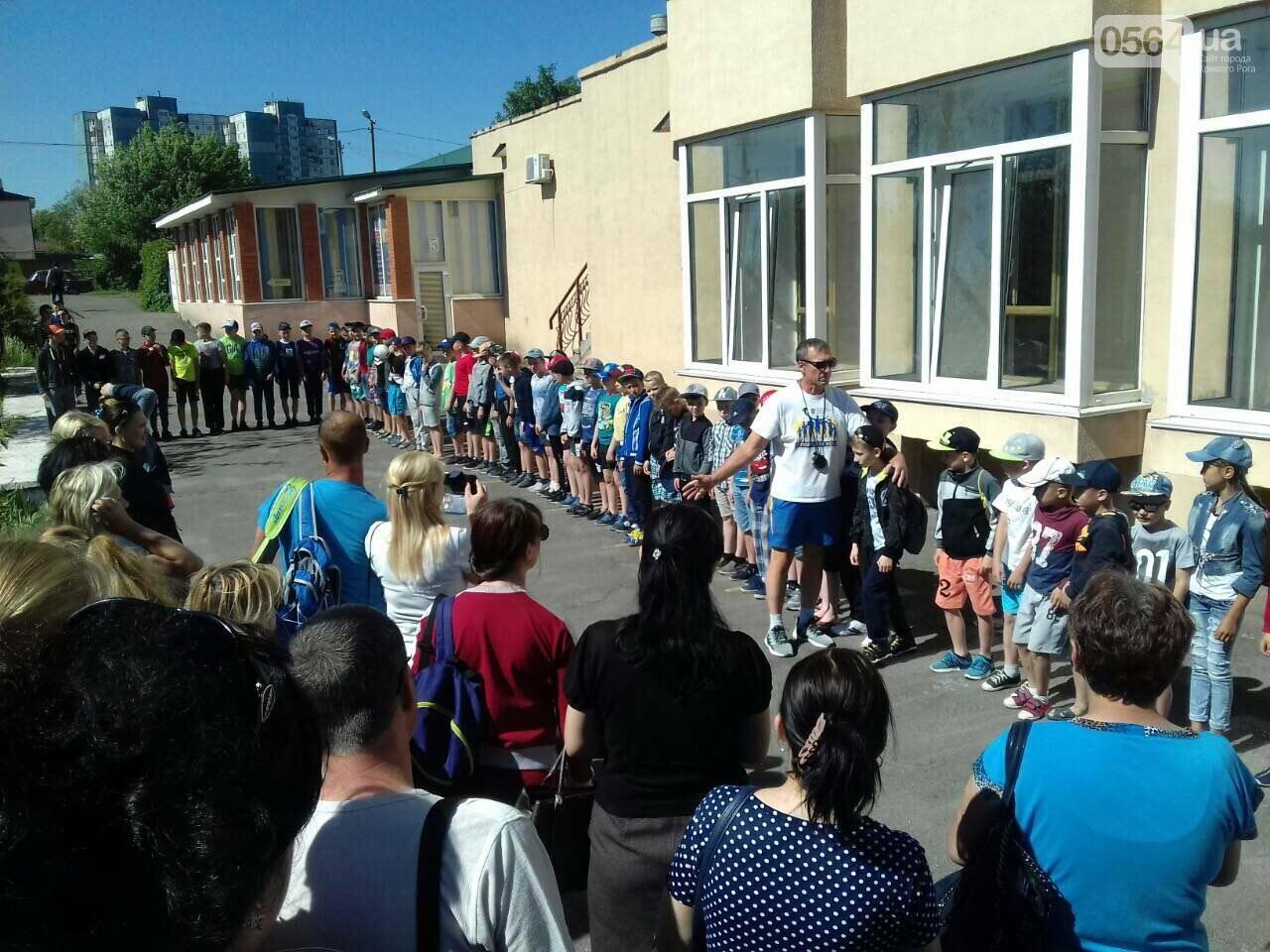 Юные криворожские спортсмены открыли летний сезон в спортивном лагере, - ФОТО, фото-9