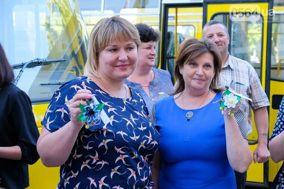 Для сельских школ Днепропетровщины закупили новенькие автобусы, - ФОТО, фото-8