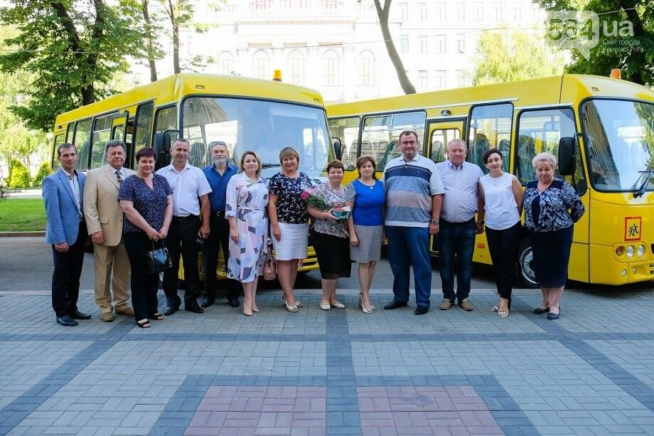 Для сельских школ Днепропетровщины закупили новенькие автобусы, - ФОТО, фото-11