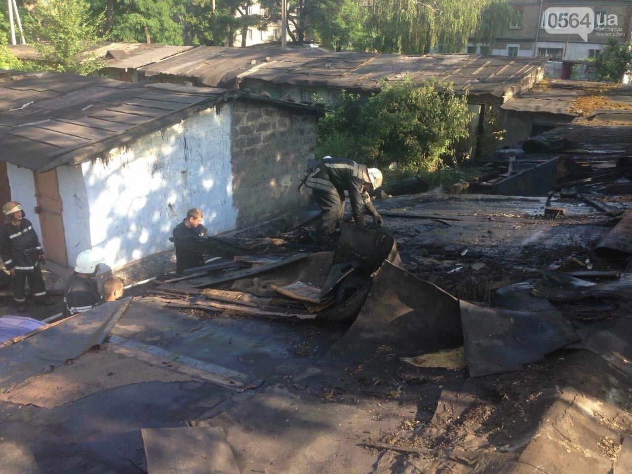 Возле одного из жилых домов в Кривом Роге вспыхнули подсобные помещения, - ФОТО, фото-4