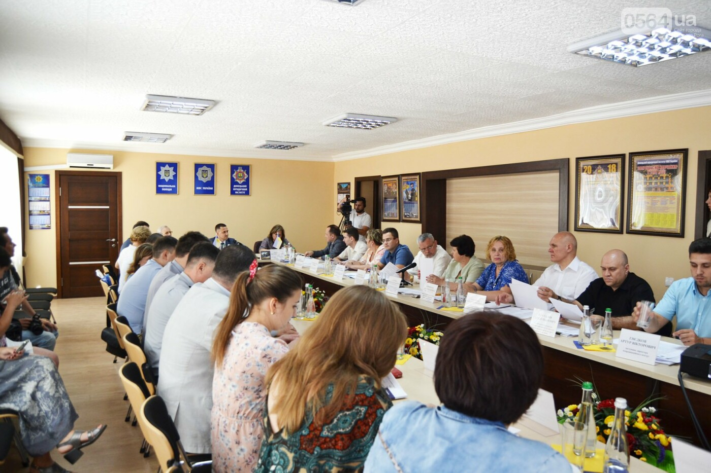 В Донецком юридическом институте состоялось выездное заседание Совета ректоров перемещенных высших учебных заведений Донбасса и Крыма, фото-3
