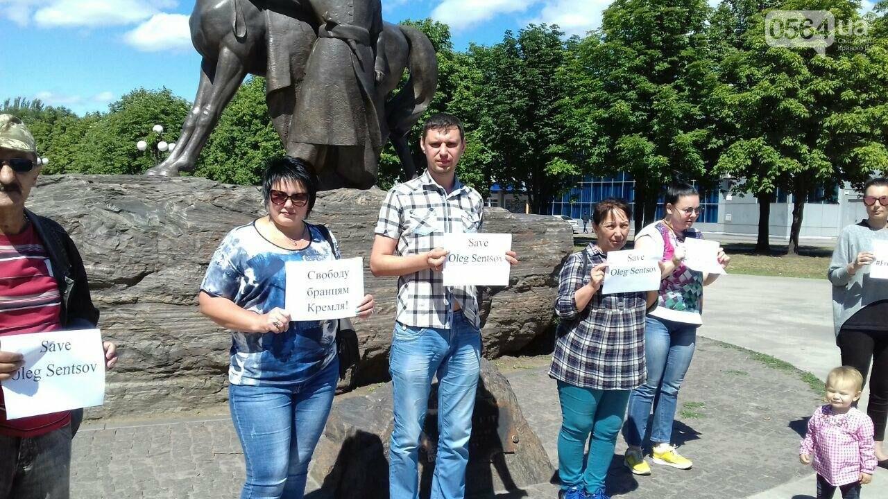 Криворожане вышли на всемирную акцию FreeSentsov, - ФОТО, ВИДЕО, фото-7