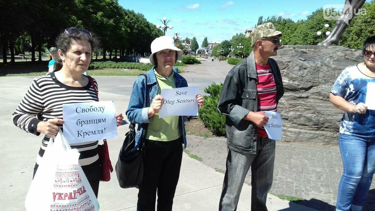 Криворожане вышли на всемирную акцию FreeSentsov, - ФОТО, ВИДЕО, фото-3