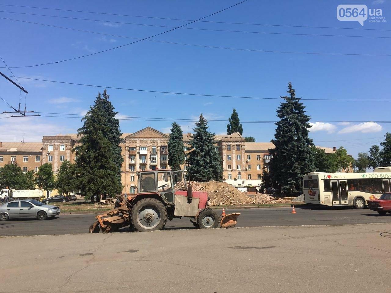 В Кривом Роге готовят площадь для установки памятника Киевскому князю Владимиру Великому, - ФОТО, фото-9