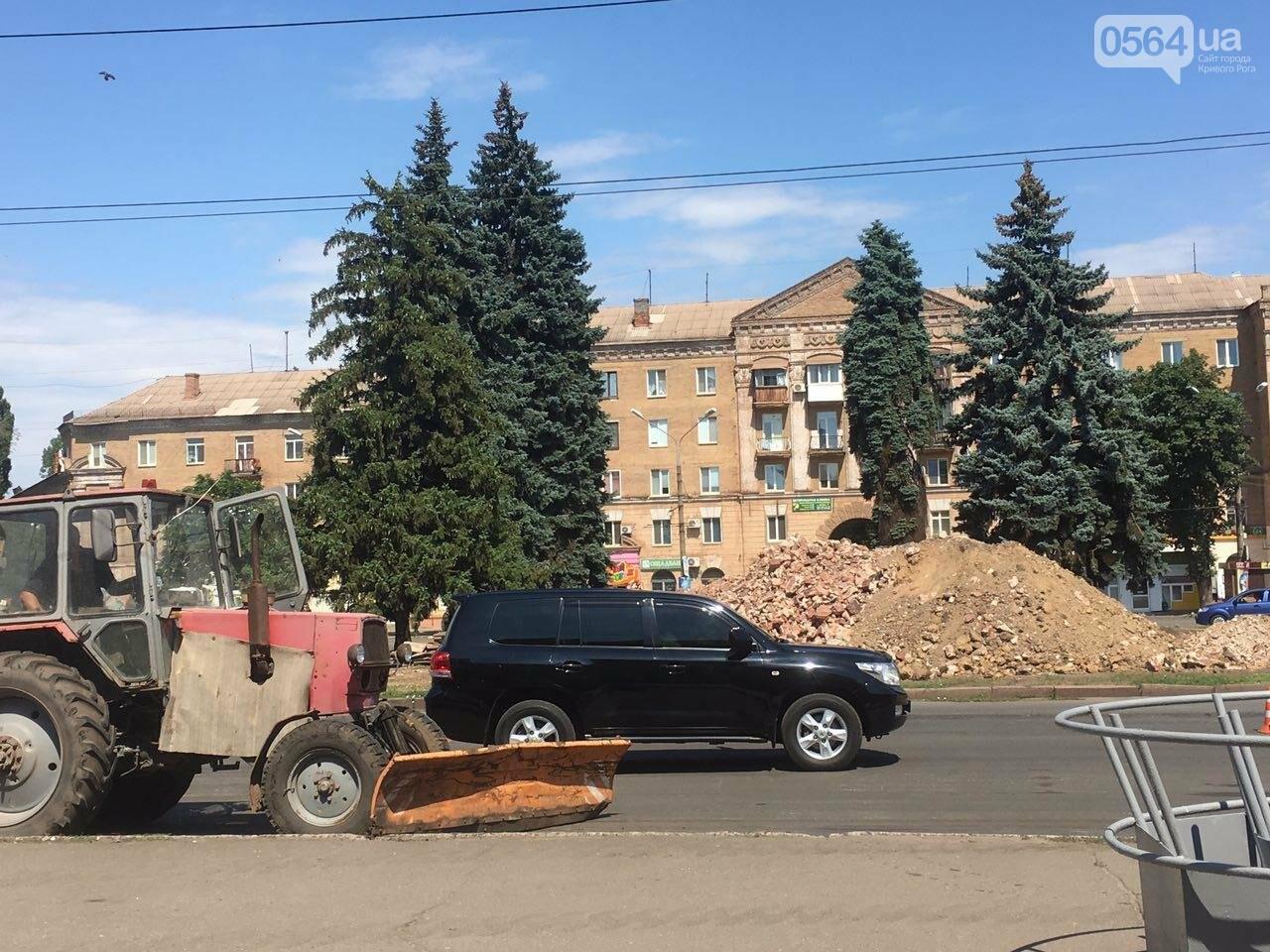 В Кривом Роге готовят площадь для установки памятника Киевскому князю Владимиру Великому, - ФОТО, фото-14