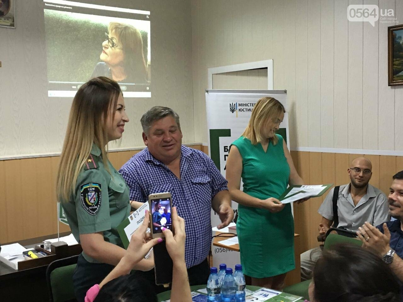 Криворожские центры по предоставлению бесплатной правовой помощи подвели итоги работы за 3 года, - ФОТО, фото-17