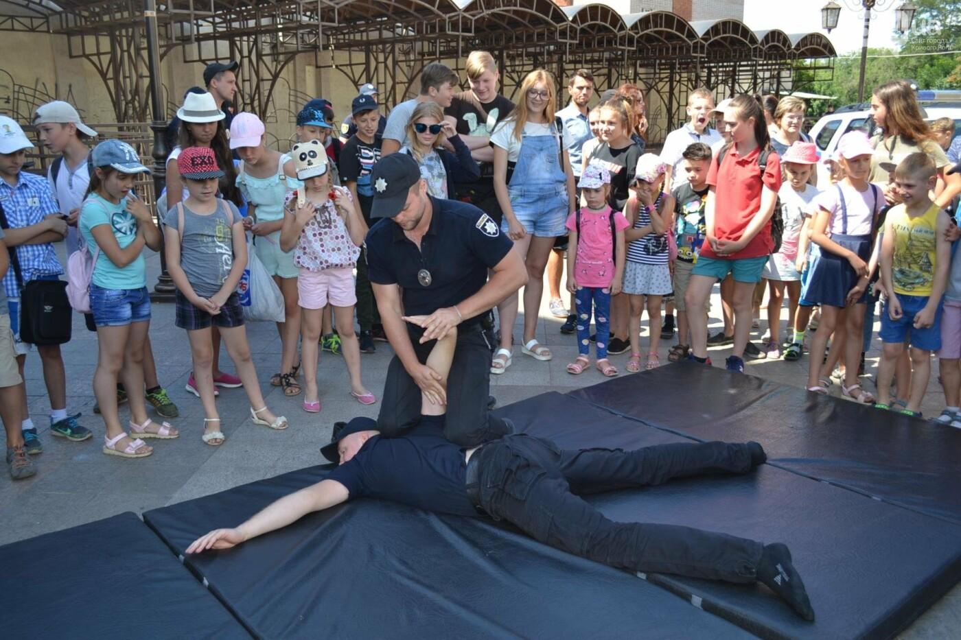 Патрульная полиция Кривого Рога отметила свой День рождения с детворой,- ФОТО, фото-1