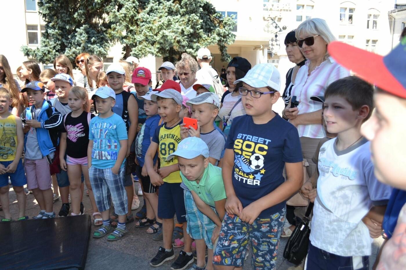 Патрульная полиция Кривого Рога отметила свой День рождения с детворой,- ФОТО, фото-4