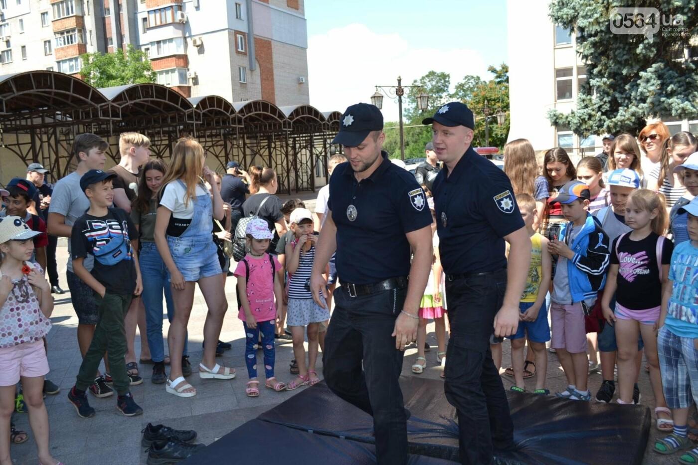 Патрульная полиция Кривого Рога отметила свой День рождения с детворой,- ФОТО, фото-5