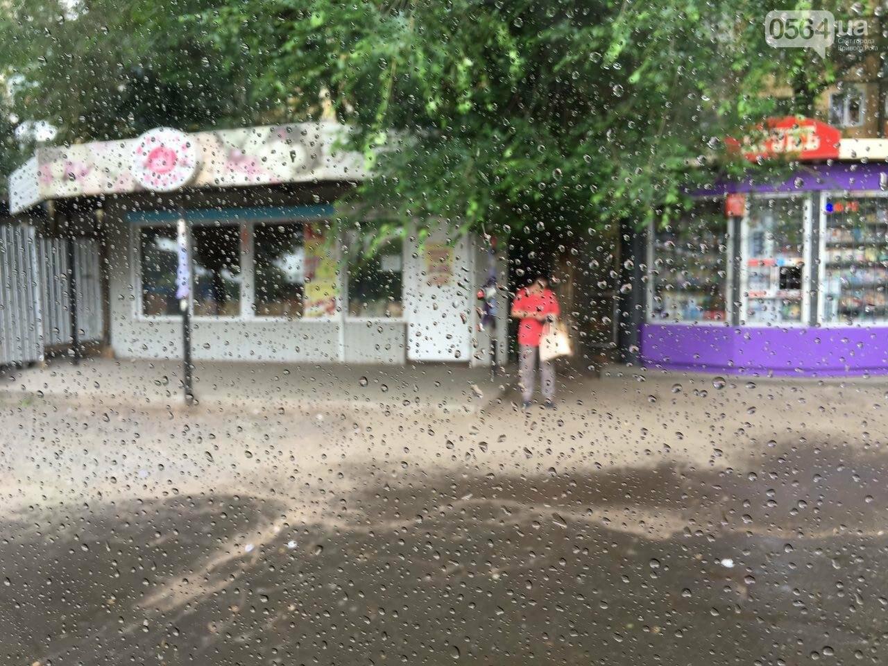 Маршрут дождя: В Кривом Роге в одних районах льет ливень, в других ярко светит солнце, - ФОТО, фото-8