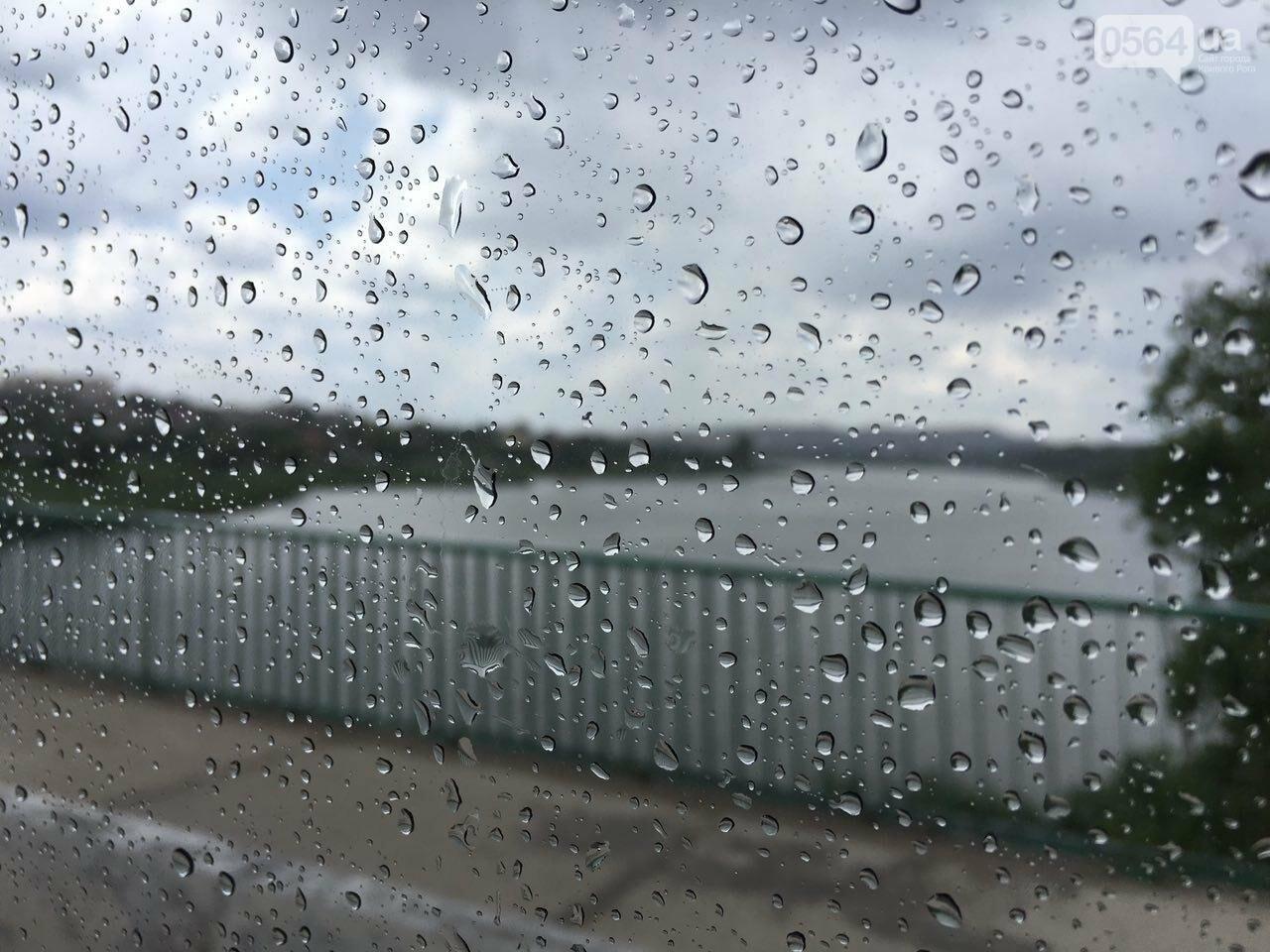 Маршрут дождя: В Кривом Роге в одних районах льет ливень, в других ярко светит солнце, - ФОТО, фото-4