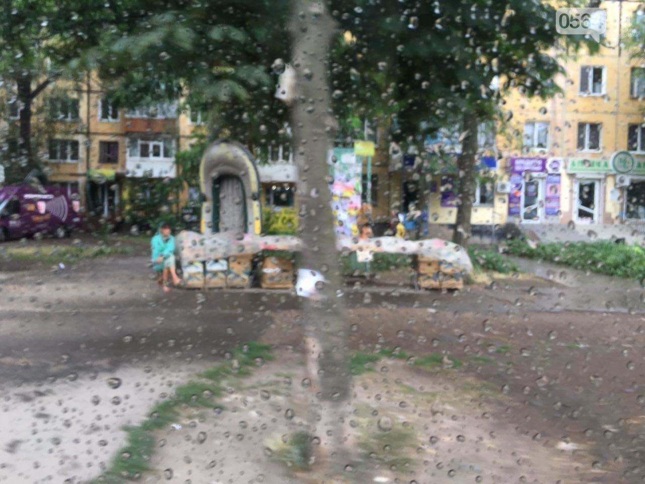 Маршрут дождя: В Кривом Роге в одних районах льет ливень, в других ярко светит солнце, - ФОТО, фото-6