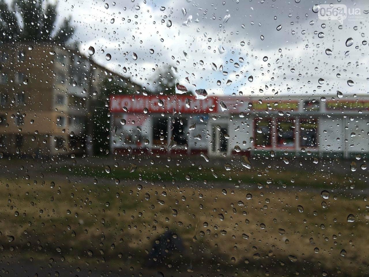 Маршрут дождя: В Кривом Роге в одних районах льет ливень, в других ярко светит солнце, - ФОТО, фото-12
