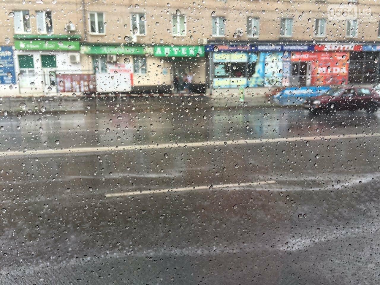 Маршрут дождя: В Кривом Роге в одних районах льет ливень, в других ярко светит солнце, - ФОТО, фото-20