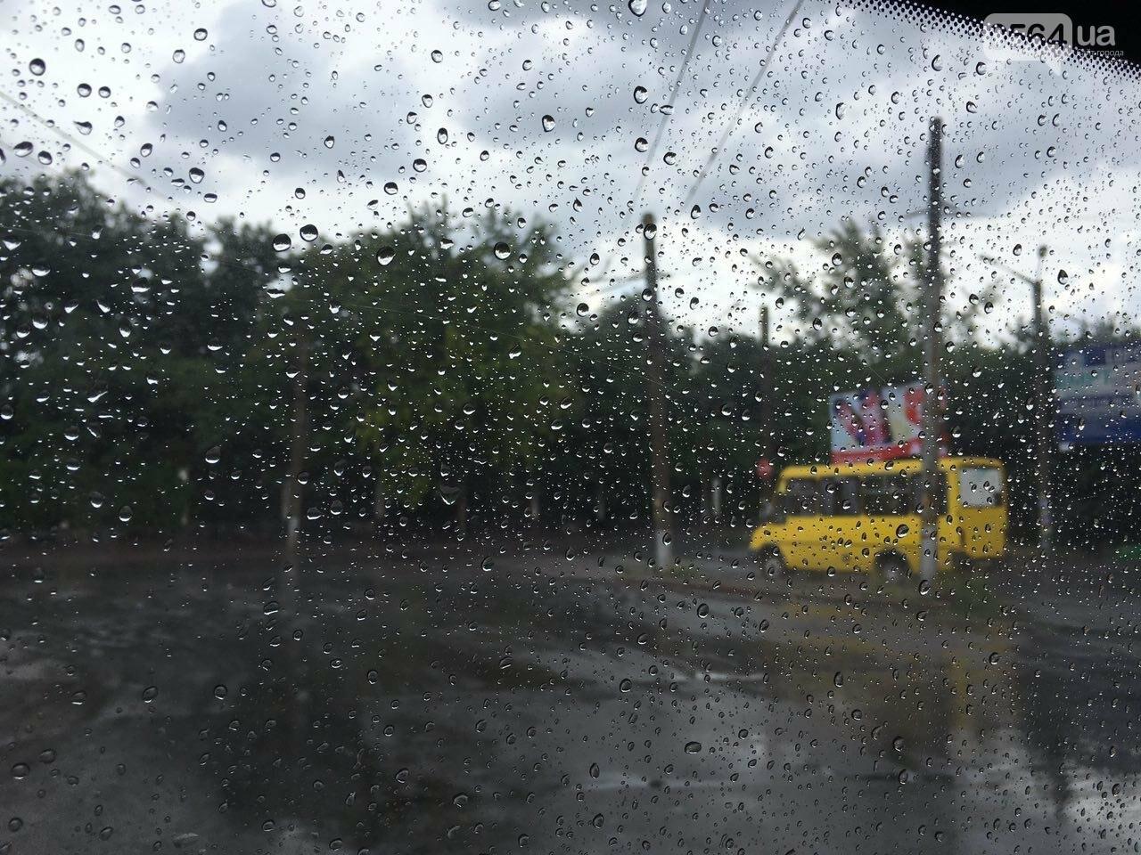 Маршрут дождя: В Кривом Роге в одних районах льет ливень, в других ярко светит солнце, - ФОТО, фото-21